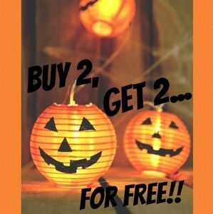 The ENTIRE month of October is buy 2 get 2 FREE!